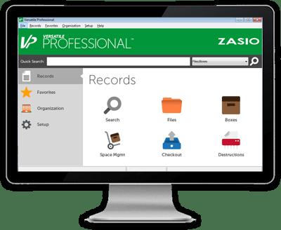 Versatile Professional Records Management Software