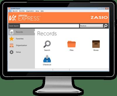 Versatile Express Records Management Software