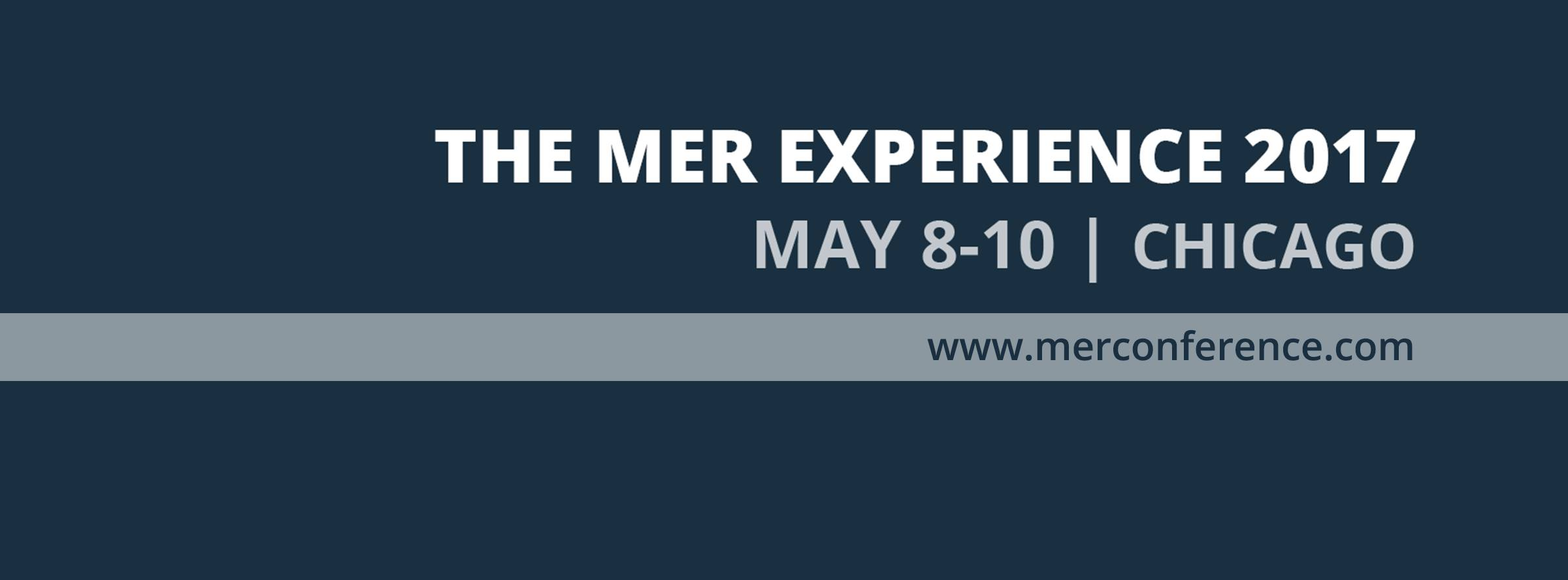 2017 MER Conference