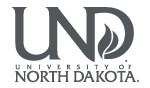 University of North Dakota logofor Zasio records management case study.